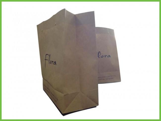 Mẫu túi giấy tái chế kraft 07